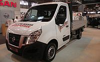 NISSAN NV400 / 2011 / 2P / Cabin. c/pianale