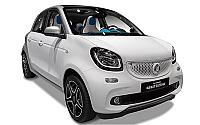 SMART forfour / 2017 / 5P / Berlina 70 1.0 52kW safetown silver twinamic